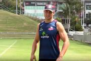 Simmons announced as interim Reds captain for 2016   Super Rugby Video Highlights